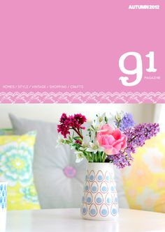 91 magazine autumn/2012 #craft #decor #design #interior #style #vintage #quaterly #free