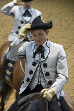 Rytter i show - Den andalusiske Rideskole i Jerez, Spanien