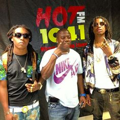 Migos (Courtesy of Twitter) Boy Celebrities, Hollywood Life, Baby Daddy, Hip Hop, Twitter, Boys, Music, Women, Fashion