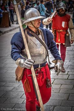 A 15th century soldier