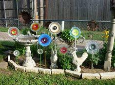 How to make a Dish Flower Garden Lynda Leverett's flower bed