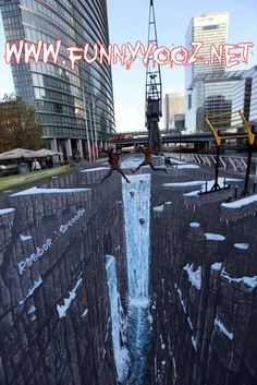 Beautiful 3d street largest in the world