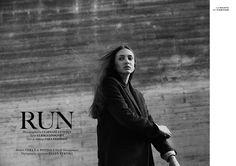 """""""Run"""" Published on Institute Magazine aw15 Photographer: Claes Gyllensten Stylist: Ulrika Lindqvist Hair and Makeup: Sara Eriksson Models: Vera and Pontus/Nisch Management"""
