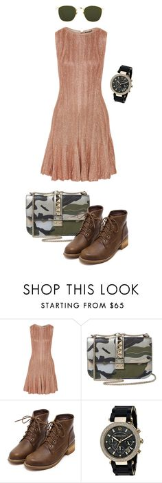 """""""Untitled #171"""" by angel-vir ❤ liked on Polyvore featuring Alexander McQueen, Valentino, Michael Kors and Linda Farrow"""