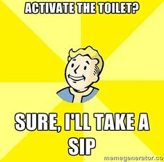 #Fallout Truths. It always gives me the creeps when I accidentally do this.