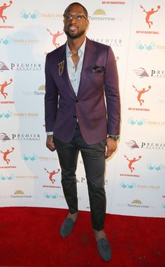 Dwyane Wade from Best-Dressed NBA Players   E! Online
