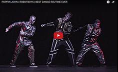 [TANECZNY FILMIK DNIA] To się nazywa prawdziwy TANIEC ROBOTÓW! :D ~~ Zwycięzcy pierwszej duńskiej edycji Mam Talent!  http://www.tanczyc-chce.pl/filmiki/video/3331-poppin-john-robotboys-best-dance-routine-ever?groupid=44