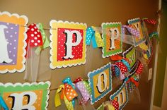 Birthday banner using silhouette Diy Birthday Banner, Birthday Crafts, Birthday Fun, Birthday Parties, Birthday Ideas, Birthday Signs, Anniversary Cards For Boyfriend, Colorful Birthday Party, Silhouette Cameo Projects