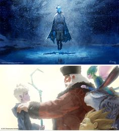 Concept art - Rise of the Guardians #Jack_Frost