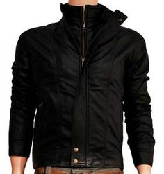 Double Zipper Fancy Leather Outwear  Jackets and winters are the complimentary things and are considered a style statement by the fashion geeks. With winter bells, shopping malls are over flooded with myriads of stylish yet functional jackets in rainbow of colors. One wonderful outerwear this