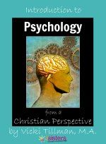 Introduction to Psychology from a Christian Perspective from 7SistersHomeschool.com by Vicki Tillman, MA. This text provides 1/2 credit high school social science course (with optional suggestions for enrichment that take the course to 1 full credit). For use independently or with a teacher, and ideal for group study in a class or co-op, this text helps teens appreciate God's handiwork and be prepared for Psych in college.