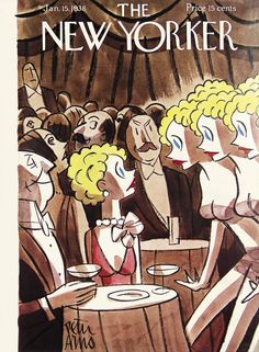 The New Yorker - Saturday, January 15, 1938 - Issue # 674 - Vol. 13 - N° 48 - Cover by : Peter Arno
