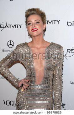 "Amber Heard at the 2011 Art Of Elysium ""Heaven"" Gala, Annenberg Bldg., California Science Center, Los Angeles, CA. 01-15-11 by s_bukley, via..."