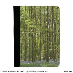 Shop Forest Blue Flowers-Beech Trees Ireland Padfolio created by JohnnieLawsonArtist. Forest Flowers, Our Planet, Wonderful Images, Personalized Gifts, Planets, Products, Customized Gifts, Personalised Gifts, Gadget