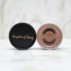 Full and thick lashes, Get the best of both worlds and accentuate what is already beautiful. Thick Lashes, False Lashes, Types Of Eyes, Synthetic Brushes, Liquid Highlighter, Mink Eyelashes, Natural Looks, Eyeshadow Palette, Eyeliner Online
