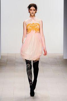 Bora Aksu Autumn/Winter 2012-2013 at London Fashion Week