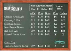 due south brewing company-board