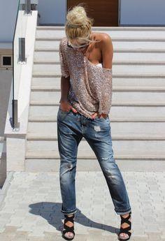 Zara  Camisas / Blusas and D  Jeans