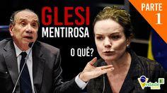 Gleisi provoca e Aloysio lhe chama de mentirosa - PARTE01