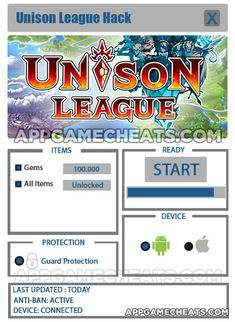 New Unison League Hack for Gems & All Items Unlock download updated. Unison…