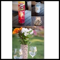 Vase Idea From Pringles Can