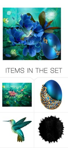 Mystery egg by vampire-kate on Polyvore featuring art