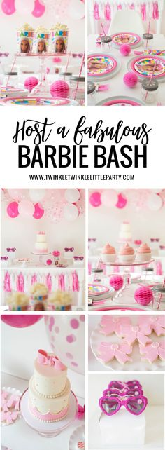 Host a Fabulous Barbie Birthday Bash with the help of Mattel! Check out our Barbie party ideas you can easily recreate to celebrate your kid's birthday!