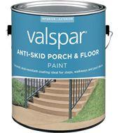 Valspar anti skid floor texture additive enhances - How fast does exterior paint dry ...