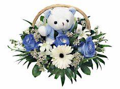 Γιά τήν Γέννηση Birth Flowers, Flower Arrangements, Floral Wreath, Wreaths, Christmas Ornaments, Holiday Decor, Floral Arrangements, Floral Crown, Door Wreaths