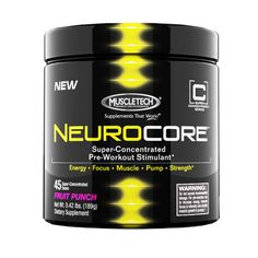 Product Review: MuscleTech NeuroCore Review