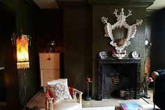 green walls room - Szukaj w Google