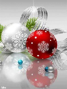 Christmas Scenes, Christmas Holidays, Christmas Bulbs, Merry Christmas, Gif Pictures, Beautiful Christmas, Special Day, Beautiful Pictures, Mandala