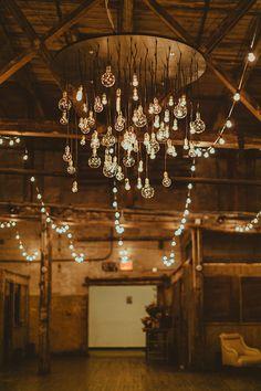 Wedding loft lighting | Wedding & Party Ideas | 100 Layer Cake