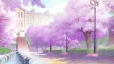 Spring 2015 - Which anime should you watch? 5 Anime, Anime Fairy, Anime Cherry Blossom, Fantasy Landscape, Anime Scenery, Cool Posters, Dream Vacations, Haikyuu, Wattpad