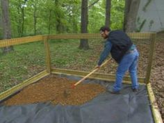 Learn how to build a shaded dog run from the DIYNetwork.com.