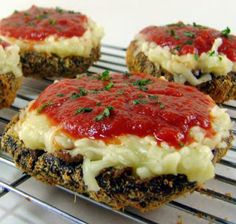 Baked Portabellas.....very very tasty and easy!