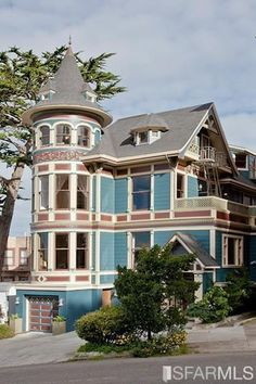 Victorian house in San Francisco.