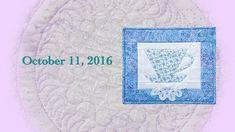 "Block Party October 2016 ""Tea Party & Basket Weave"""