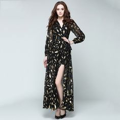 Korean Style Split Chiffon Dress   FREE Shipping Worldwide   Get it here ---> https://ihavenothingtowear.shop/korean-style-split-chiffon-dress/  #womensapparel #onlineshopping #ihavenothingtowear