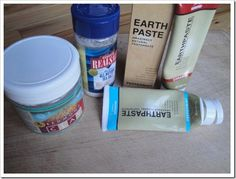Earthpaste is made from simple ingredients I already use and love - it's my way to get safer toothpaste!