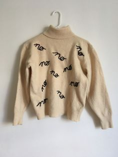 littlealienproducts: no sweater by fake girlfriend