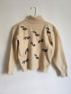 littlealienproducts: no sweater by fake girlfriend