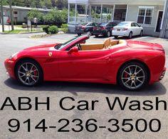 #ABH #carwash #briarcliff #westchester #abhcarwash #ferrari #handcarwash #10510