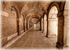 Soportales Palacio Real de Aranjuez HDR | Flickr: Intercambio de fotos