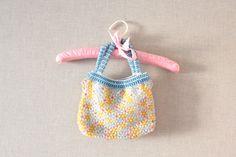 colorful art deco beaded handbag by lesblousons on Etsy, $25.00