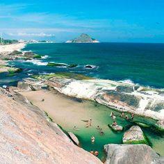 Praias paradisíacas do Sudeste (Foto: Allan Siqueira/Instagram)