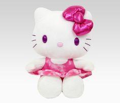 """Hello Kitty 10"""" Plush: Tie-Dye"""
