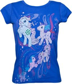 Why are all the great vintage (G1) retro My Little Pony t-shirts all in the UK? (and thus, sold in pounds, and thus REALLY expensive!!)