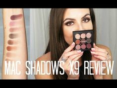 MAC Eyeshadows X9 Review + Demo - YouTube