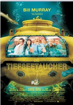 Die Tiefseetaucher * IMDb Rating: 7,2 (87.682) * 2004 USA * Darsteller: Bill Murray, Owen Wilson, Cate Blanchett,